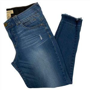 "Democracy ""Ab"" Technology Jeans Blue Size 8"